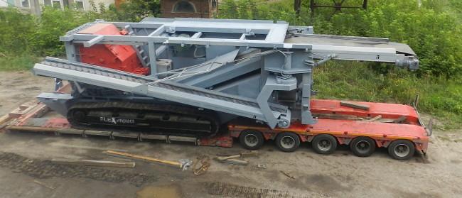 Самоходная роторная дробилка FlexImpact Р 28